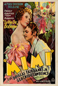 "Movie Posters:Romance, Mimi (First Division, 1936). One Sheet (28"" X 41"") Style A.. ..."