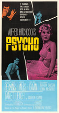 "Movie Posters:Hitchcock, Psycho (Paramount, 1960). Three Sheet (41.5"" X 78.5"").. ..."