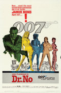 "Movie Posters:James Bond, Dr. No (United Artists, 1962). One Sheet (27"" X 41"") Yellow SmokeStyle.. ..."
