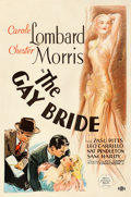 "Movie Posters:Comedy, The Gay Bride (MGM, 1934). One Sheet (27"" X 41"") Vincentini (TedIreland) Artwork.. ..."