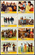 "Movie Posters:Rock and Roll, Help! (United Artists, 1965). Lobby Card Set of 8 (11"" X 14"").. ...(Total: 8 Items)"