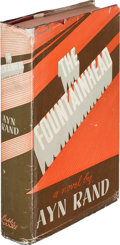 Books:Literature 1900-up, Ayn Rand. The Fountainhead. Indianapolis: The Bobbs-MerrillCompany, [1943]. First edition....