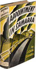 Books:Literature 1900-up, John O'Hara. Appointment in Samarra. New York: Harcourt,Brace and Company, [1934]. First edition with notice tipped...
