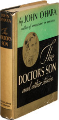 Books:Literature 1900-up, John O'Hara. The Doctor's Son. And Other Stories. NewYork: Harcourt, Brace and Company, [1935]. First e...