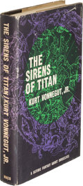 Books:Science Fiction & Fantasy, Kurt Vonnegut. The Sirens of Titan. Boston: Houghton MifflinCompany, 1961. First hardcover edition....