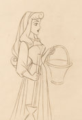 Animation Art:Production Drawing, Sleeping Beauty Animation Drawing (Walt Disney, 1959)....