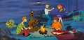 Animation Art:Limited Edition Cel, Scooby-Doo Limited Edition Cel #227/250 (Hanna-Barbera, 1998)....