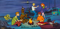 Scooby-Doo Limited Edition Cel #227/250 (Hanna-Barbera, 1998)
