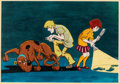 Animation Art:Production Drawing, Scooby-Doo Animation Drawing (Hanna-Barbera, c. 1970)...