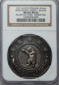 20th Century Tokens and Medals, 1927 New Monte Cristo Mining Company, C.C. Julian, MS63 NGC....