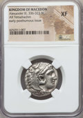 Ancients:Greek, Ancients: MACEDONIAN KINGDOM. Alexander III the Great (336-323 BC).AR tetradrachm. NGC XF....