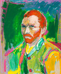 Fine Art - Work on Paper:Print, Peter Max (American, b. 1937). Van Gogh, 1993. Screenprintin colors. 28 x 22-1/2 inches (71.1 x 57.2 cm). Ed. 18/300. S...