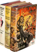 Books:Science Fiction & Fantasy, Edgar Rice Burroughs. Group of Three Books. Tarzana: Edgar Rice Burroughs. Titles include: Tarzan Triumphant. [1932]... (Total: 3 Items)