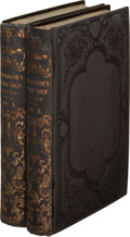 Books:Literature Pre-1900, Nathaniel Hawthorne. Twice-Told Tales. Boston: James Munroeand Company, 1842. First expanded edition, following... (Total: 2Items)