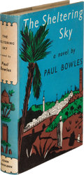 Books:Literature 1900-up, Paul Bowles. The Sheltering Sky. London: John Lehmann,[1949]. First edition of the author's first novel....