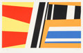 Prints:Contemporary, Pierre Clerk (Canadian, b. 1928). Morocco Series #10, 1980.Serigraph in colors on wove paper. 22-1/2 x 37-7/8 inches (i...