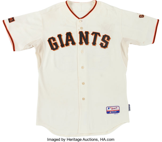 0bbdbbf7b san francisco giants jersey auction