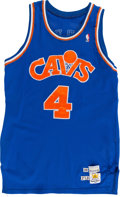 Basketball Collectibles:Uniforms, 1988-89 Ron Harper Game Worn Cleveland Cavaliers Jersey....