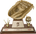 Baseball Collectibles:Others, 1968 George Scott Gold Glove Award--Modern Replacement....