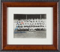 Baseball Collectibles:Photos, 1961 New York Yankees Team Signed Photograph with Mantle &Maris....