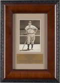 Baseball Collectibles:Photos, Circa 1940 Jimmie Foxx Signed Photograph from the Joe DiMaggioEstate....