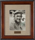 Baseball Collectibles:Photos, 1950's Ty Cobb Signed Photograph, PSA/DNA Mint 9....