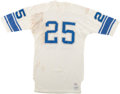 Football Collectibles:Uniforms, Circa 1972-73 Earl McCullouch Game Worn Detroit Lions Jersey....