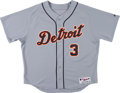 Baseball Collectibles:Uniforms, 2008 Gary Sheffield Game Worn Detroit Tigers Jersey with MLB Hologram. ...