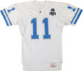Football Collectibles:Uniforms, 1993 Andre Ware Game Worn Detroit Lions Jersey....
