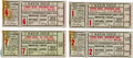 Baseball Collectibles:Tickets, 1934 World Series Ticket Stubs Lot of 4. ...