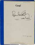 "Miscellaneous Collectibles:General, 1986 Paul McCartney ""Stranglehold"" Video Script...."