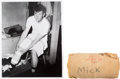 Baseball Collectibles:Others, Early 1960's Mickey Mantle Game Used Knee Wrap....