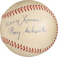 Baseball Collectibles:Balls, 1950's Ray Schalk Single Signed Baseball. ...