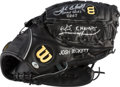 Baseball Collectibles:Others, 2003 Josh Beckett Game Used & Signed Fielder's Glove. ...