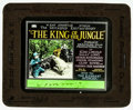 "Movie Posters:Adventure, King of the Jungle (Rayart Pictures, 1927). Glass Slide (3.25"" X4"") Episode 2 -- ""The Elephant Avenger."" Adventure.. ..."