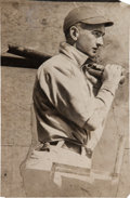 Baseball Collectibles:Photos, 1919 Joe Jackson Original News Photograph, PSA/DNA Type 3. ...