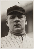 Baseball Collectibles:Photos, 1920's John McGraw Original Paul Thompson Photograph, PSA/DNA Type1....