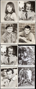 "Movie Posters:War, The Green Berets (Warner Brothers, 1968). Photos (19) (approx. 8"" X10""). War.. ... (Total: 19 Items)"