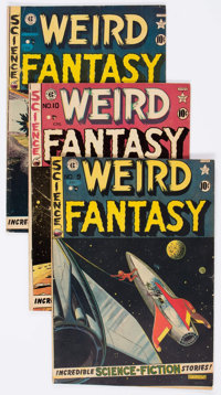 Weird Fantasy Group of 8 (Superior Comics, 1950s) Condition: Average VG+.... (Total: 8 Comic Books)