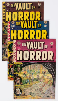 Vault of Horror #27-30 and 34 Group (Superior Comics, 1950s) Condition: Average VG/FN.... (Total: 5 Comic Books)