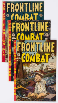 EC War Comics - Canadian Editions Group of 6 (Superior, 1950s) Condition: Average VG+.... (Total: 6 Comic Books)