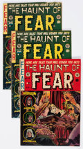 Golden Age (1938-1955):Horror, Haunt of Fear Group of 4 (Superior Comics, 1950s) Condition:Average VG.... (Total: 4 Comic Books)