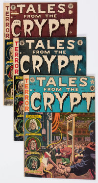 Tales From the Crypt Group of 5 (Superior Comics, 1950s) Condition: Average VG.... (Total: 5 Comic Books)