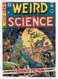 Weird Science #9 (Superior Comics, 1951) Condition: FN-
