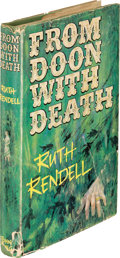 Books:Mystery & Detective Fiction, Ruth Rendell. From Doon with Death. London: John Long,[1964]. First edition....