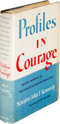 Books:Americana & American History, John F. Kennedy. Profiles in Courage. New York: Harper &Brothers, [1956]. First edition, inscribed by the aut...