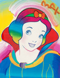 Fine Art - Painting, American:Contemporary   (1950 to present)  , Peter Max (American, b. 1937). Snow White, 1996. Screenprintwith acrylic painting and mixed media on paper. 13-1/2 x 10...