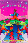 Post-War & Contemporary:Contemporary, Peter Max (American, b. 1937). (I Got No Kick Against) ModernJazz, 1995. Color poster with acrylic painting. 30 x 20 in...