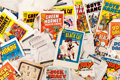 Memorabilia:Miscellaneous, Harvey Comics Cover Press Proof Production Materials Small Box Lot (Harvey, c 1950-80s)....