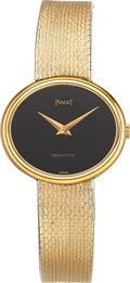 Estate Jewelry:Watches, Piaget Lady's Gold Watch, retailed by Tiffany & Co.. ...
